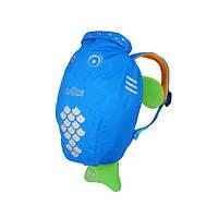 Детский рюкзак Рыбка для мальчика голубой