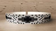 Схема для вышивания бисером Украшение на шею AO-001