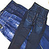Лосины- леггинсы женские с ВЫСОКОЙ ТАЛИЕЙ типа джинсов из плотного трикотажа. Леггинсы женские.