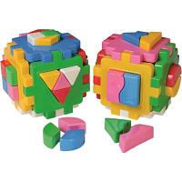 Куб Умный малыш Логика Комби ТехноК
