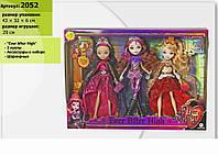 "Кукла ""Ever After High "" 2052 3 куклы, с акс., на шарнирах, в кор."