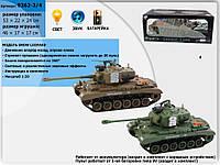 Танк р/у аккум 9362-3/4, 2вида, пульт на батар., в кор. 53*25*21см