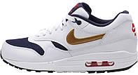 Мужские кроссовки Nike Air Max 87 (найк аир макс 87) белые