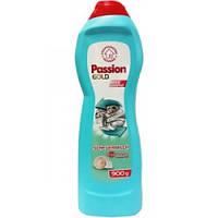 Молочко для чистки ванной, раковины Passion Gold 700 мл.,