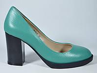 Туфли на среднем каблуке FIRAGEMA яркие стильные