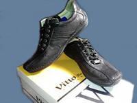 Туфли мокасины легкие удобные Vitto натуральная кожа 40р