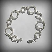 9002 Браслет Кольца Сатурна из ювелирного комплекта серебро 925 пробы