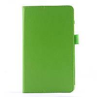 Чехол Подставка Lychee Texture для LG G Pad 8.0 V490 зеленый