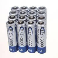 Аккумулятор батарея 4шт в блистере AA BTY 3000 mAh