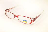 Очки для зрения в красной оправе -1.5 , фото 1
