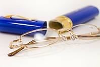 Очки для чтения ручка +3.5 в синем футляре, фото 1