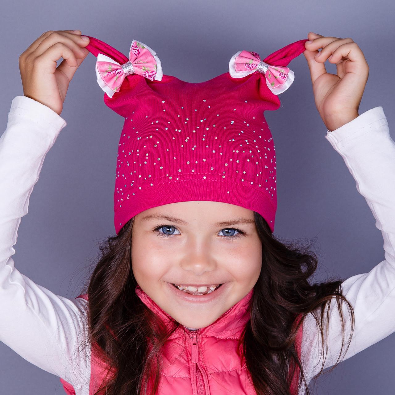 Шапочки для девочек модные