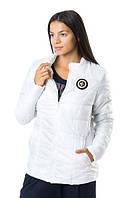 Белая куртка женская демисезонная