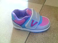 Кроссовки для девочки Clibee 21-26 мигают