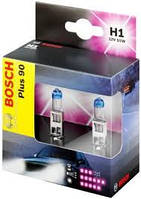 Комплект галогенных ламп H1 12V 55W (свет +90%) на Renault Trafic 2001-> — Bosch (Германия) - 1987301073