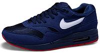 Мужские кроссовки Nike Air Max 87 (найк аир макс 87) синие