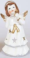 Статуэтка ангел, подсвечник, фарфоровый.