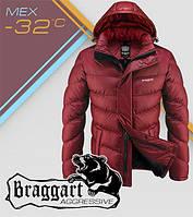 Куртка мужская зимняя дизайнерская Braggart