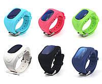 Умные детские часы-телефон (smart baby watch) Q50, оригинал, c GPS  трекером, гарантия