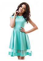 Нарядное платье с пышной юбкой S M L XL
