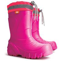 Детские резиновые сапоги Demar MAMMUT-S f розовые из EVA пены