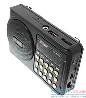 Радиоприемник ATLANFA с USB+SD+дисплей+фонарик AT-R22U