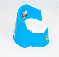 Голубой кресло-горшок для детей