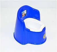 Синее кресло-горшок для мальчика