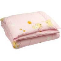 Одеяло силиконовое антиаллергенное 105 х 140 см, розовое, Руно