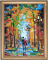 Набор для вышивки бисером Романтическая прогулка (по картине О. Дарчук) 482