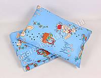 Детское одеяло с подушкой хлопок/шерсть 004