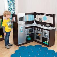 Детская кухня Изысканной уголок Espresso KidKraft 53302