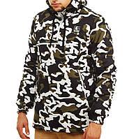 Куртка анорак мужская зимняя Ястребь камуфляжная Вайткамо