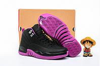 """Баскетбольные кроссовки Nike Air Jordan 12 GS """"Hyper Violet"""""""