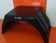 Крыло-брызговик пластиковое К-470 на ГАЗель (квадратное)