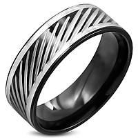 Мужское кольцо из стали и титана, в наличии 18.0, 19.0, 20.0, 20.7