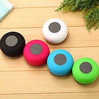 Колонка водонепроницаемая на присоске BTS06 Bluetooth, портативный динамик, музыкальная колонка, микрофон
