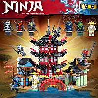 Конструктор Ninja 737+ деталей (аналог Lego Ninjago)
