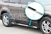 Боковые подножки Труба Land Rover Freelander с 2007 (Нержавейка)