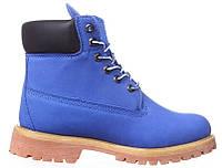 Женские ботинки Timberland (Тимберленд) синие
