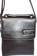 Барсетка маленькая Bradford. Модная мужская сумка на плечо. Отличное качество. Купить в интернете. Код: КДН676