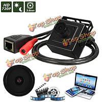 HD 720p 3.6mm проводной мини CCTV IP сети CMOS Цифровая видеокамера Сафти скрыты