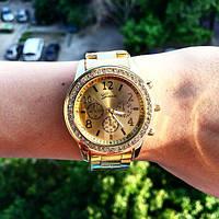Женские наручные часы Geneva Gold золото