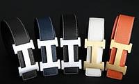 Ремень  HERMES кожаный цвета разные
