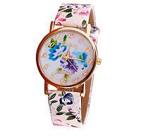 Часы с цветочным принтом код 211