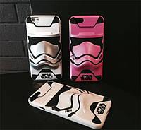 "Iphone 6/6s 4.7 оригинальный чехол панель бампер накладка TPU  3D объемный "" Star Wars Darth Vader """
