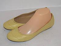 DOODOGS _желтые балетки _ 37р _ ст.24 см