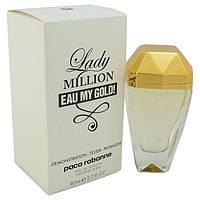 Тестер - парфюмированная вода Paco Rabanne Lady Million eay My Gold (Пако Рабанне Леди Миллион май Голд) 80 мл
