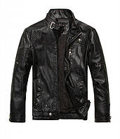 Кожаная байкерская куртка В наличии! Размер 2XL