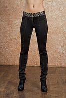 Черные лосины женские D&G  $, фото 1
